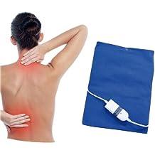 Almohadilla electrica calor 60W espalda y lumbares 3 niveles temperatura 40x32cm