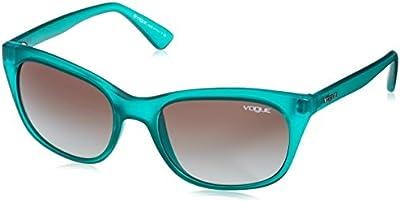 Vogue - Gafas de sol Mod.2743S para mujer, Verde/Green gradient