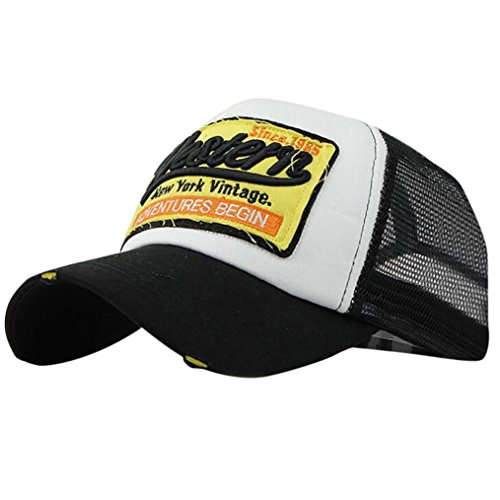 695e383540077 Gorras de béisbol,Gorra de verano bordada Sombreros de malla para hombres  Mujeres Sombreros casuales