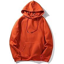 Color de la moda Hooides Hombres Ropa gruesa Sudaderas de invierno Hombres Hip Hop Streetwear Solid Fleece Hoody Hombre Ropa