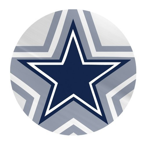 Custom Dallas Cowboys Mouse Pad Gaming Round Mousepad CM-1253