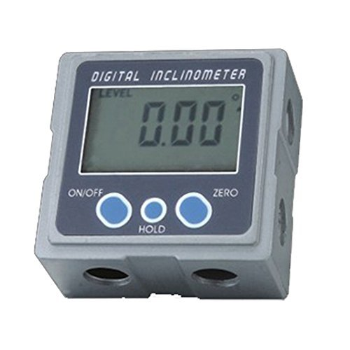 BIPEE 5339-90 Mini Digital Bevel Box Gauge Inclinometer,3 Surfaces with Magnets by BIPEE