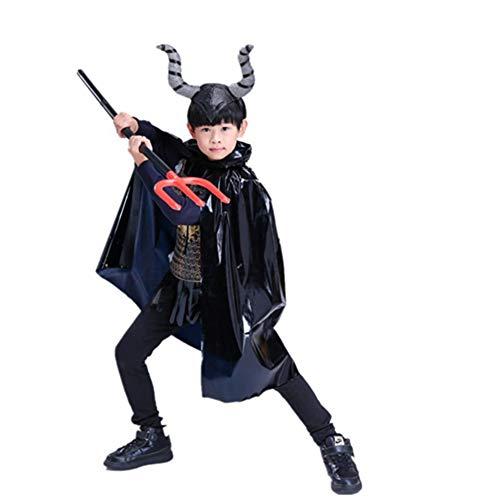 Kind Kostüm Bull - ZXYSHOP Kindertierbekleidung Nettes Bull Devil Boy-Kostüm Für Kinder, Kostüm Cosplay Bull Devil Masquerade-Leistungskostüm,140