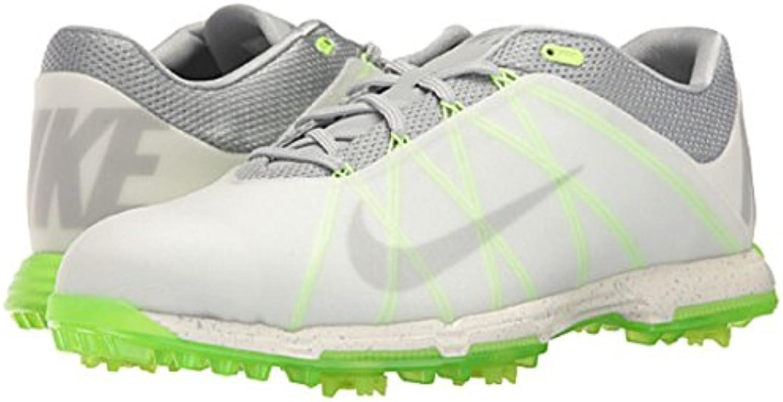 Nike Lunar Fire Zapatillas Deportivas de Golf, Hombre, Gris, 42