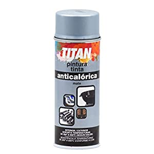 Industrias Titan. S.L S09030040 Spray Anticalórica, Aluminio, 400 ml