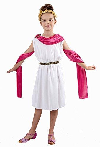 Islander Fashions M�dchen griechische G�ttin Roman Toga Kleid Kinder alten Buch Woche �gyptischen Kost�m 4-6 ()