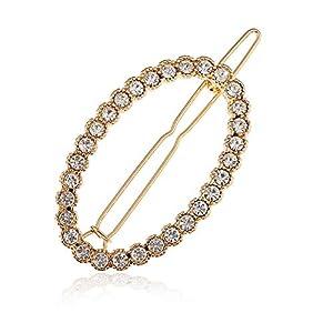 Sangni Gold ovale Haarnadel mit umgelegter Form