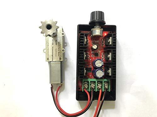 Jiang Motoransteuerung Motor Controller DC 12 V 24 V 36V 48 V 2000W MAX 10-50 V 40A PWM HHO DC Motor Drehzahlregelung RC Controller Steuerung Direkt Versorgung DC Motor Speed Control -