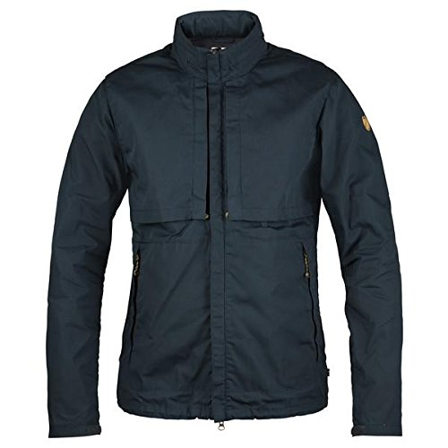 FJÄLLRÄVEN Herren Travellers Jacke, Dark Navy, M Travel Jacket