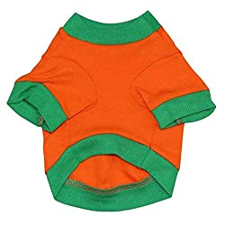 Pet Clothes , Halloween Pet Puppy Dog Shirt Tops Pumpkin Costumes