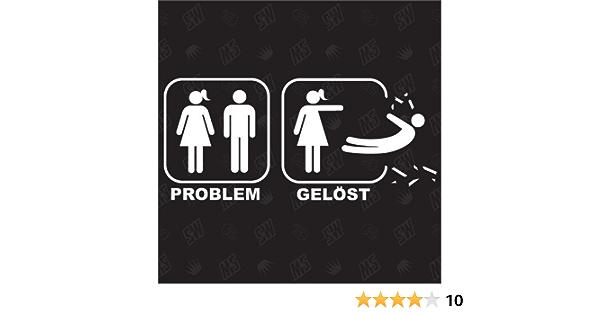 Problem Gelöst For Girls Sticker Auto