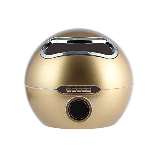 TLfyajJ Ball Shaped Emoji Kosmetiktücher Bad Wasserdichte Toilettenpapierhalter für Badezimmer, WC, Wohnzimmer, Schlafzimmer us Golden