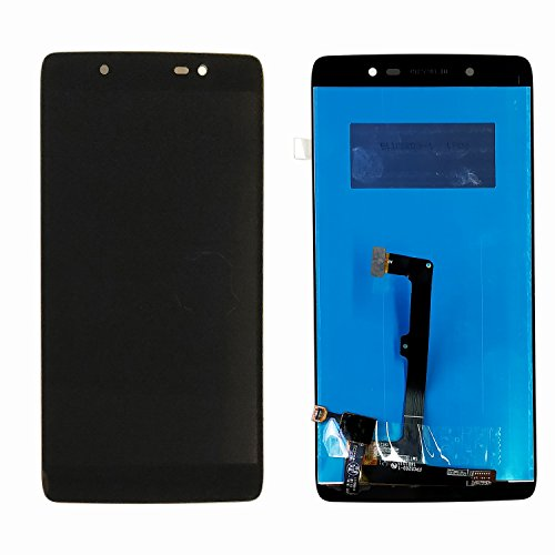Alcatel OneTouch-6055 Idol 4 Plus LCD Display Touchscreen Bildschirm Schwarz