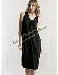 f376ed079284 RAGNO Abito Donna Viscosa Spalla Larga Art.70214P (Nero