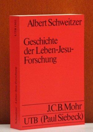 Geschichte der Leben-Jesu-Forschung.