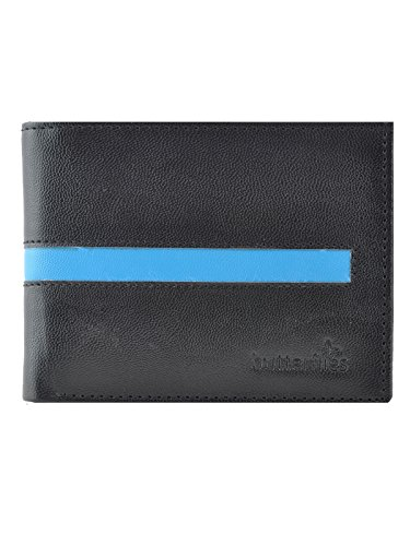 Butterflies Dual Wallet (Black and Blue) (BNS F034)  available at amazon for Rs.275