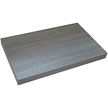 KeraBad Waschtischplatte Waschtischkonsole für Aufsatzwaschbecken ... | {Waschtischplatte mit schublade 56}
