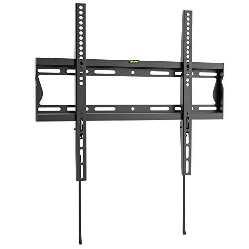 RICOO Soporte TV Fijo de Pared F2044 Mueble para televisores y PC Monitor Brazo Colgante Soportes 3D...