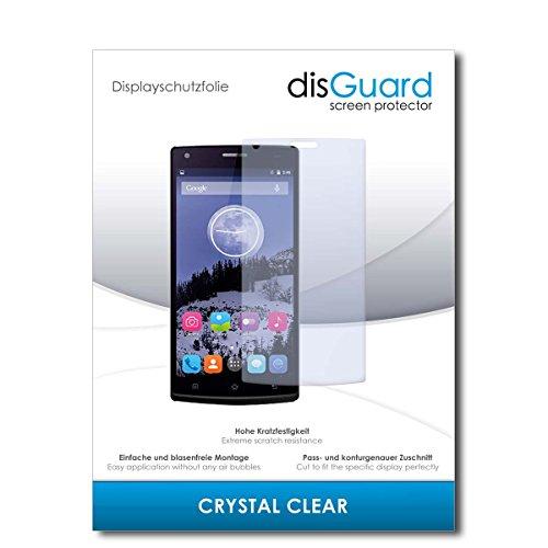 disGuard® Bildschirmschutzfolie [Crystal Clear] kompatibel mit Switel eSmart E2 [2 Stück] Kristallklar, Transparent, Unsichtbar, Extrem Kratzfest, Anti-Fingerabdruck - Panzerglas Folie, Schutzfolie