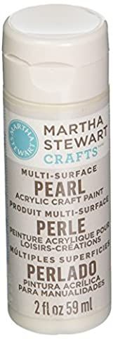 Martha Stewart Crafts 2 oz Mother of Pearl Acrylic Paint, Multi-Colour