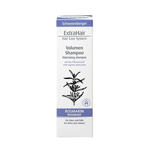 Schoenenberger Naturkosmetik ExtraHair Volumen Shampoo BDIH, 1er Pack (1 x 200 ml)