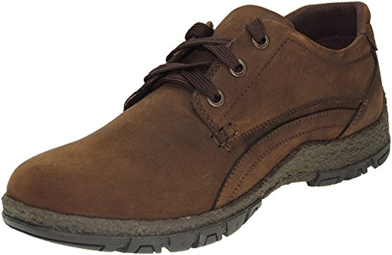 J'HAYBER. Zapato Casual Cordones Nobuk para Hombre - Modelo ZA59041 -