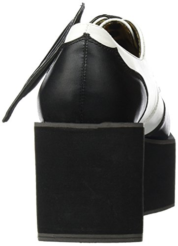 Iron Fist - Daytime Sleeper Creeper, Scarpe col tacco Donna Nero (Nero (Black/White))