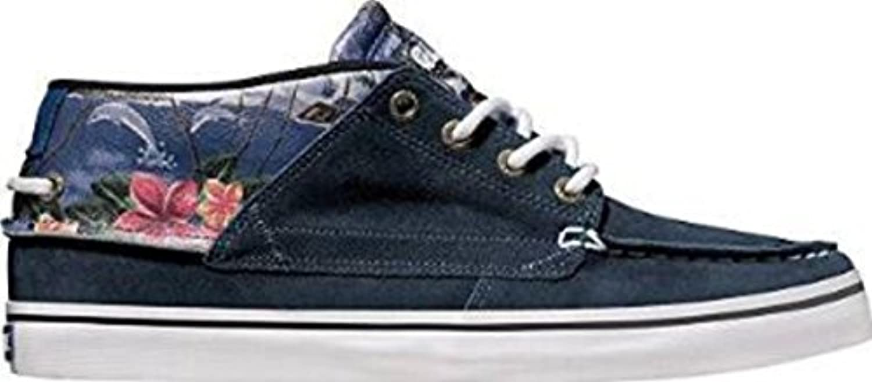 Globe Skateboard Shoes The Bender Blue Hawaii - Sneaker Skate Shoes  -