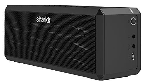 SHARKK® Boombox Bluetooth Lautsprecher Tragbarer Stereo-Lautsprecher mit 18+ Stunden Spielzeit. 10W-Lautsprecher für iPhone, iPad, Samsung und mehr - 2