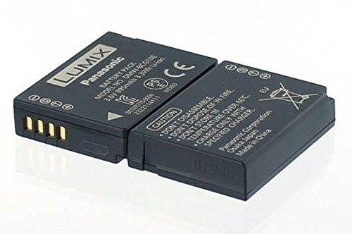 Panasonic Original Akku LUMIX DMC-TZ10 -TZ16 -TZ18 -TZ25 ersetzt Akkutyp DMW-BCG10E