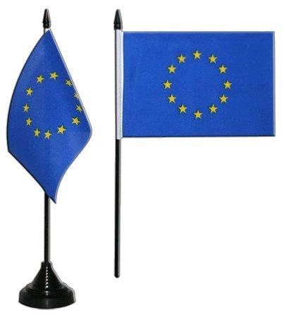 Flaggenfritze® Tischflagge Europäische Union EU 10x15 cm