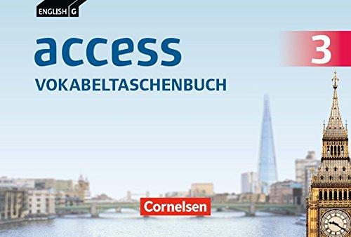 English G Access - Allgemeine Ausgabe / Baden-Württemberg: Band 3: 7. Schuljahr - Vokabeltaschenbuch