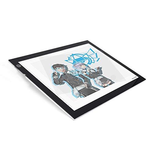 Huion A3 48 x 36 cm Dimmbarer Einstellbare Helligkeit Handwerk Tracing Animations Tattoo Quilting LED-Leuchttisch Lichtkasten