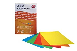 Pukka Paper, Assorted Coloured Paper A4