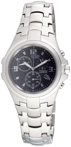 Citizen Herren Chronograph Super Titanium AT1100-55F
