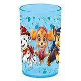 POS 29964 – drinkglas in trendy Paw Patrol design, drinkbeker voor jongens en meisjes van kunststof, inhoud ca. 250 ml.