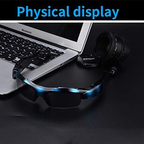 HKYMBM Polarisierte Sport-Sonnenbrillen, intelligente Bluetooth-Sportbrillen, Bluetooth 4.1, kompatibel mit gängigen elektronischen Produkten wie iOS, Android, Samsung, Tablets usw,C
