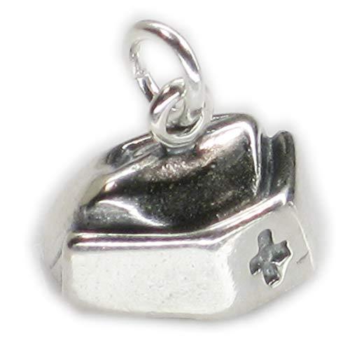 Verbandschere Hut sterling Silber 925-1 Anhänger Krankenschwester DKC42837 Stillen
