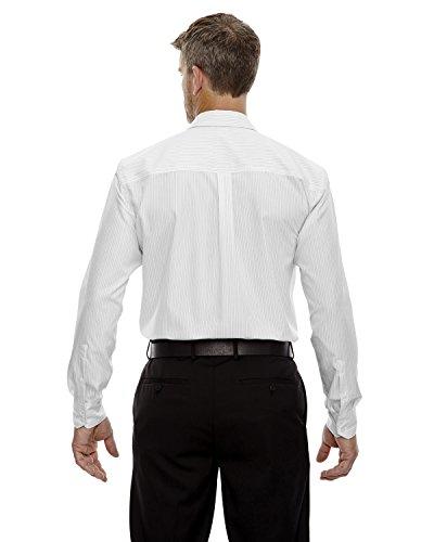 Frêne Ville hommes de boardwalkfree Double Coton Coutures pour Femme Motif rayé Blanc - WHITE 701