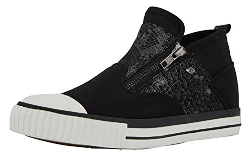 British Knights ROXIE DAMEN HIGH-TOP-SCHUH SNEAKER Noir
