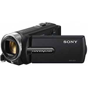Sony DCR-SX21EB SD-Camcorder (57-fach opt.Zoom, 6,8 cm (2,7 Zoll) Display, USB 2.0) schwarz