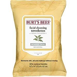 Burt's Bees Lingettes Nettoyantes pour le Visage