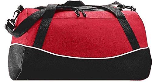 Augusta Herren Sportswear Mini Mesh Singlet Jersey Kelly Rot/Schwarz/Weiß