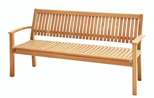 Ploß Outdoor furniture Landhausbank, Atlanta, natur, 66x183x92 cm, 0,2318 ml, 1022590