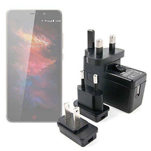 DURAGADGET Kit De Adaptadores Con Cargador Para Smartphone UMI Max | Touch...