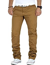 RedBridge Heren Chino Hose Freizeit Stoff Lässig by Cipo Baxx Streetwear Club