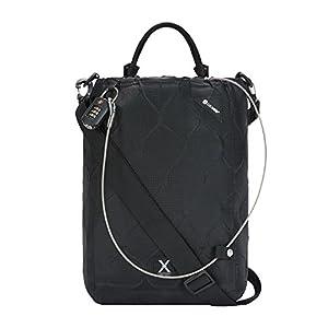 Pacsafe Travelsafe X15 – Mobiler Safe mit TSA-Zahlen Schloß, Trage-Tasche mit Anti-Diebstahl Technologie, 25 Liter, Schwarz/Black