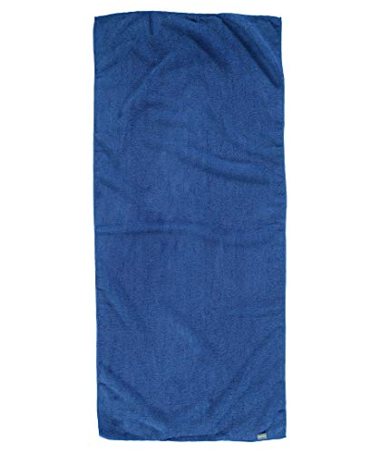 Meru Reisehandtuch Terry blau (296) L
