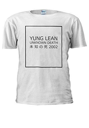 Yung Lean Unknown Death ? ? ?? Japan Novelty Men Women Unisex Top T Shirt-M (Tank-top Shirt Lean)