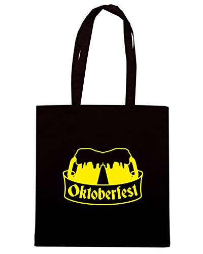T-Shirtshock - Borsa Shopping BEER0088 Oktoberfest Beer Team Nero
